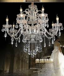 luxury crystal chandelier for living room re cristal modern chandeliers light fixture wedding decoration large chandelier