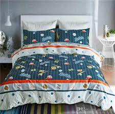 2018 uk size full cotton printed children duvet cover set bedding supply single double king quilt cover pillow cases summer kids bedding set from purehome