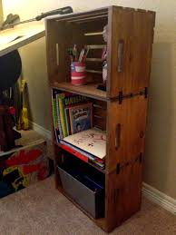 these would be so cute in a boys room perfect storage diy wooden crate