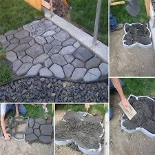 pathmate stone mold paving concrete stepping stone mould pavement paver diy path tools