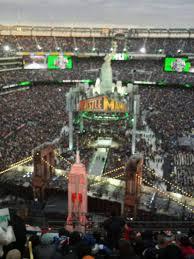 Wrestlemania Seating Chart Metlife Metlife Stadium Section 350 Row 15 Seat 21 Wrestlemania