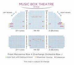 Shubert Theater Nyc Seating Chart 28 Thorough Music Box Theatre