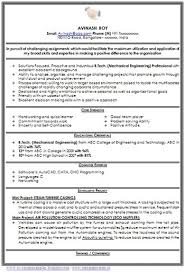 Over 10000 CV and Resume Samples with Free Download: Mechanical Engineer  Resume for Fresher