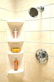 tile shower corner shelf marble glass shower design exquisite home depot