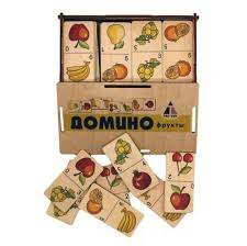 <b>Деревянная игрушка Tau Toy</b> Домино Фрукты - Акушерство.Ru