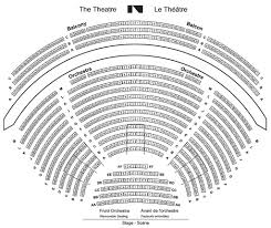 National Arts Centre Southam Hall Seating Chart Babs Asper Theatre National Arts Centre