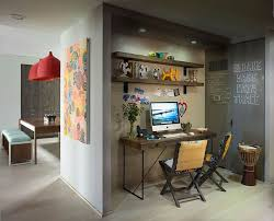 family home office. 10 small home office ideas tucked into the wall just beside kitchen sits this family y