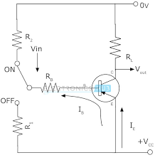 pnp transistor circuit characteristics working applications circuit for pnp transistor as switch