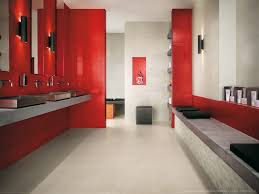 Dark Red Bathroom Red And White Bathroom Decor Dark Floating Vanity With Sinks Dark