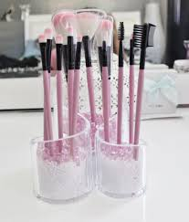 brush holder beads. diy makeup brush storage | journey to waist length: diy holder beads