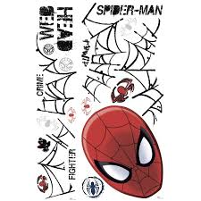 ultimate spider man web head wall