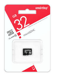 <b>Карта памяти micro</b> SDHC Smartbuy 32GB Class 10 (без ...