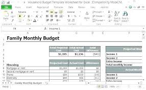 Monthly Family Budget Worksheet Monthly Bill Spreadsheet Template Monthly Bill Template Free