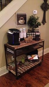 coffee station furniture. wonderful station 25 diy coffee bar ideas for your home stunning pictures with station furniture