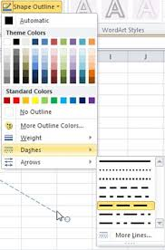 Here's how to add a line anywhere you want. Change The Color Style Or Weight Of A Line Office Support