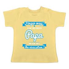 Sprüche Baby Ich Habe Einen Verrückten Papa Blau Baby T Shirt Kurzarm