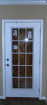 single glass exterior door exterior single french door single panel fiberglass entry door