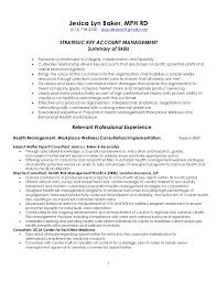 Management Skills Resume Fascinating Strategic Key Account Management Resume 60 60 60