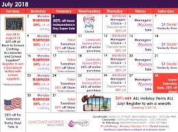 Resale Shops March Sale And Calendar