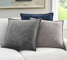 Caitilin Velvet Medallion Quilted Pillow Cover | Pottery Barn &  Adamdwight.com