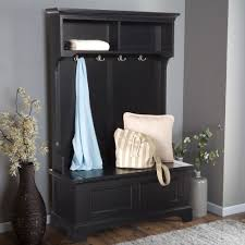 Hallway Seat And Coat Rack Mudroom Entryway Cabinet Furniture Entry Foyer Coat Rack Bench 53