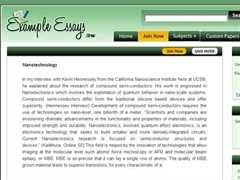 words essay on nanotechnology to check out our top essays on nanotechnology essay to help you write your own essay
