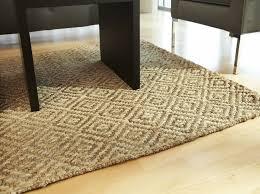 bleached jute rug style