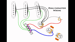 stratocaster mod wiring dual capacitors for fender diagram stratocaster mod wiring dual capacitors for fender diagram strat