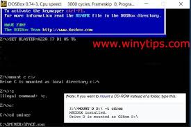 play old pc games on windows 10 dos