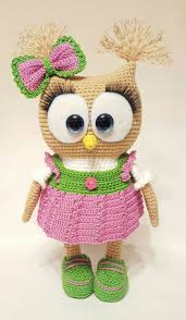 Amigurumi Patterns Free Beauteous Cute Owl In Dress Amigurumi Pattern Free Amigurumi Patterns