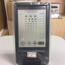 Double Vision Test Chart 57c Test Distance 30 Cm Double Side With Chart Vision Tester