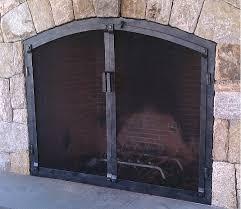 frameless glass fireplace doors. Wrought Iron Fireplace Doors Photos Regarding Prepare 13 Frameless Glass