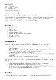 Carpenter Resume Templates Finish Carpenter Resume Finish Carpenter Job and Resume Template 33