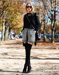 Fashion Week Diary Look 14 Tweed shorts Olivia palermo and Palermo