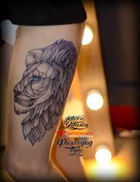 лев в геометрии тату салон юрец удалец философия тату