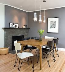 designer dining room. Designer Dining Chairs Room Fireplace Black White