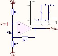 Op Amp Comparator How Do I Make An Opamp Comparator Work In Schmitt Trigger
