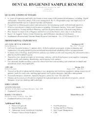 Dental Hygiene Sample Resume Related Post Pediatric Dental Hygienist ...