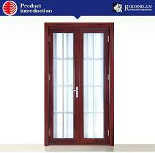 office interior double door with frosted glass insert design for window doors exterior