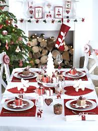 red and silver table decorations. Red And White Table Decorations A Modern Setting Ornaments . Silver
