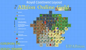 Albion Online New Royal Continent Layout Details Upalbion Com