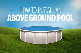 Image Inground Pools Installing Round Above Ground Swimming Pool Can Be Done Quickly If Youre Prepared Beforehand Below We Have Provided The Steps Along With Helpful Poolsupplyworld How To Install Round Above Ground Pool
