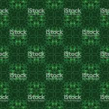Retro Naadloos Behang Achtergrond Vintage Groen Spiraal Kruis