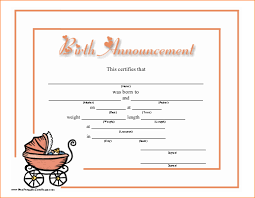 Birth Announcement Template Free Printable Magdalene