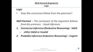 argument evaluation criteria summary deductive 03 1 19 argument evaluation criteria summary deductive inductive logic