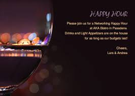 Happy Hour Invitation Template A Networking Happy Hour Online Invitations Cards By Pingg Com