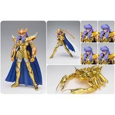 milo armadura dorada escorpion figura 18 cm saint seiya saintia sho myth cloth ex loading zoom