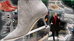 Rene Caovilla Designer Luxury Shopping Vlog Designer Shoes Manolo Blahnik Louboutin Rene Caovilla Valentino More