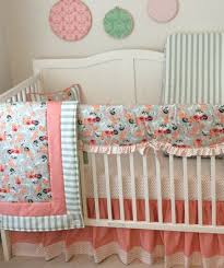 baby girl crib bedding set peach c and by
