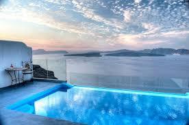indoor infinity pool. Santorini Astarte Suite With Private Infinity Pool \u0026 Indoor Couples Jacuzzi,